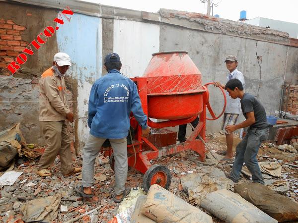 Những nguyên tắc lúc sử dụng máy trộn bê tông