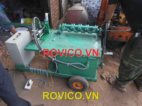 Máy uốn đai thép tự động không làm bạn tăng thêm bất kể mức giá nhân công nào trong khâu chuẩn bị cốt thép
