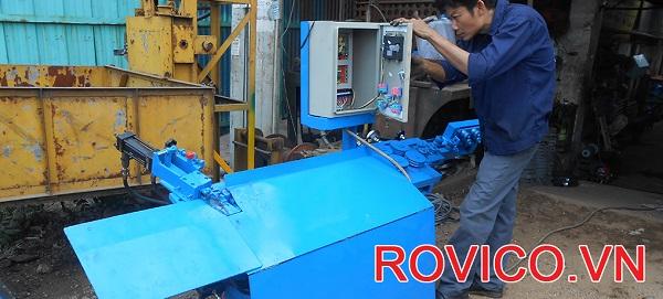 Rồng Việt cung ứng máy bẻ đai sắt phi 8