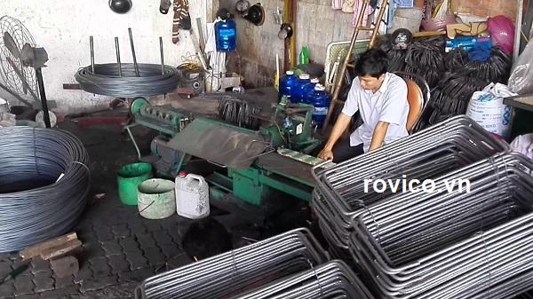 Giới thiệu máy uốn đai thép tự động hóa rồng việt
