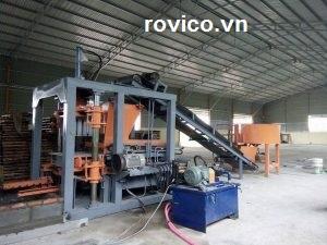 Máy ép gạch không nung tự động Rồng Việt