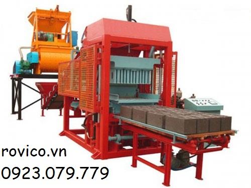 Những bước sử dụng máy ép gạch không nung cung cấp tự động