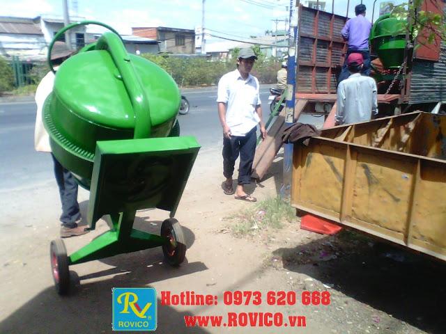 Loại máy trộn bê tông nào phổ biến