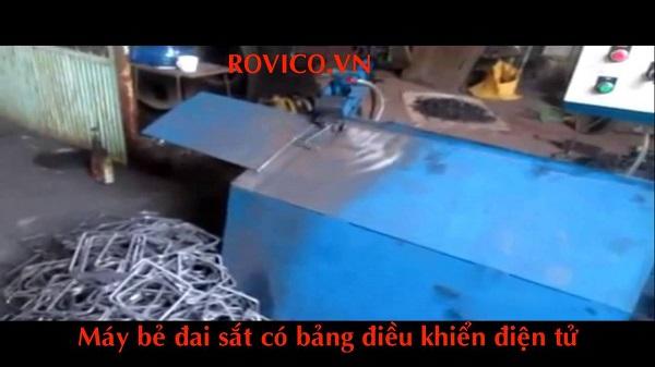 Tại sao nên đầu tư vào máy bẻ đai sắt tự động rồng việt
